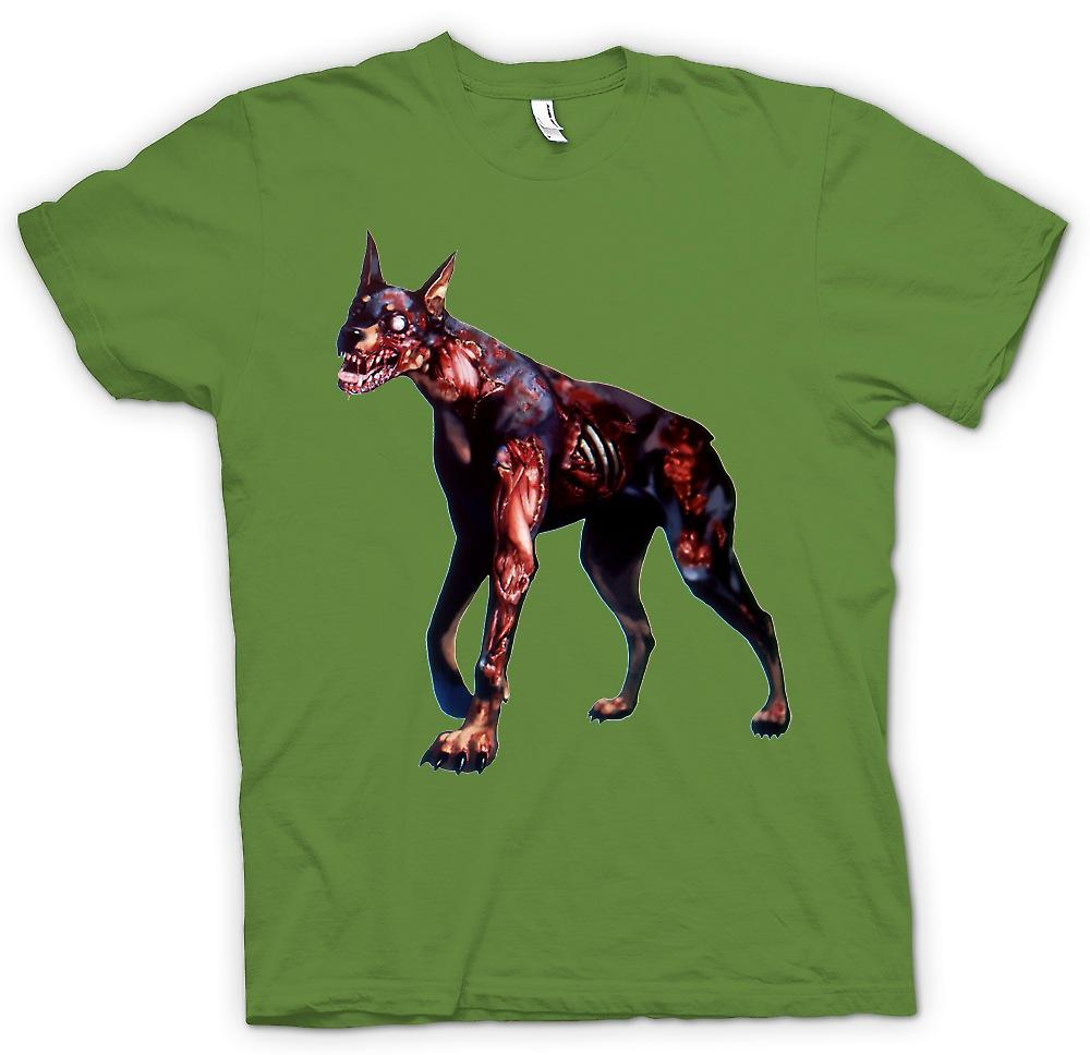 Mens T-Shirts - ich liebe Zombie-Hunde