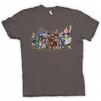 Mens T-shirt - Dragon Ball Z Gang - Kids TV