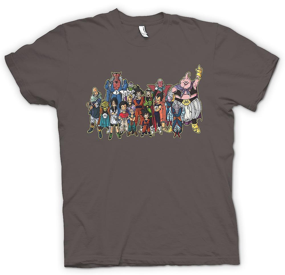 Womens T-shirt - Dragon Ball Z Gang - Kids TV