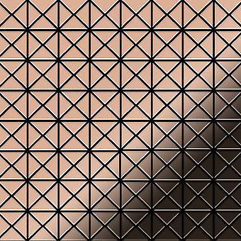 Mosaïque en métal massif Cuivre ALLOY Deco-CM