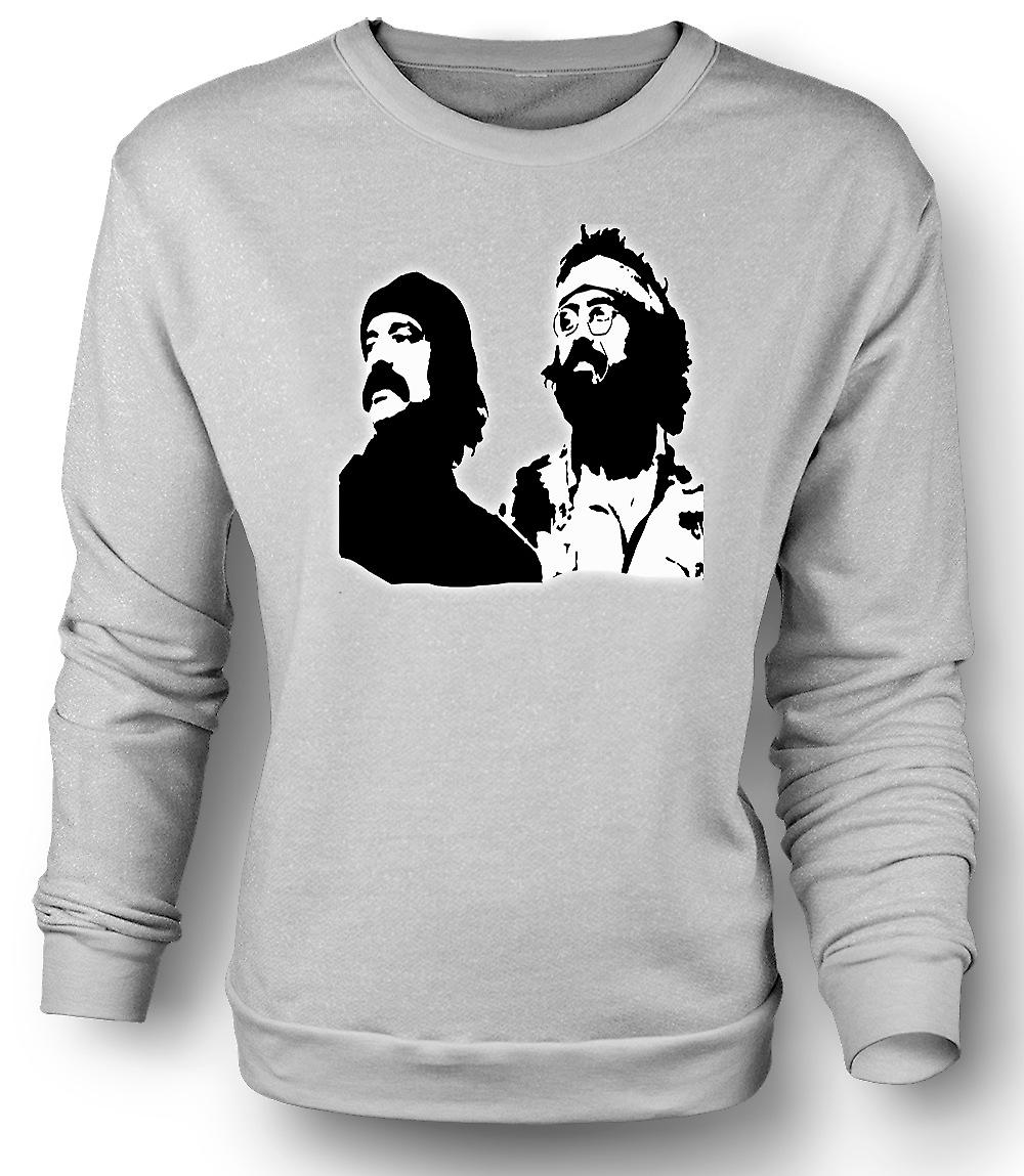 Mens Sweatshirt Cheech en Chong
