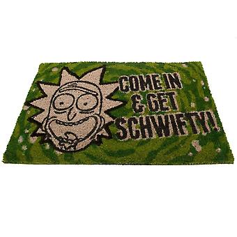 Rick And Morty Schwifty Doormat