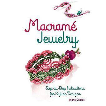 Macram smycken: Anvisningar för eleganta design