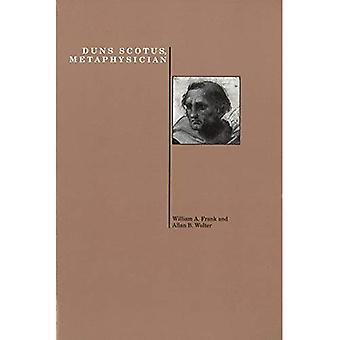 Duns Scotus, metafysicus (geschiedenis van de filosofie S.)