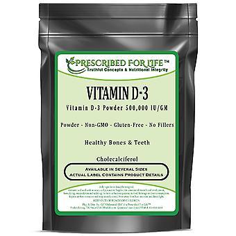 Cholecalciferol - Vitamin D3 Powder - 500,000 IU per Gram