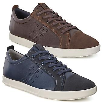 Ecco Mens 2019 Collin 2.0 BantiOvid Leather Lightweight Trainer Shoes