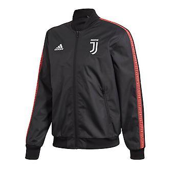 2019-2020 Juventus Adidas Anthem Jacket (Black)