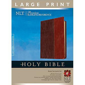 Premium Slimline Reference-NLT-Large Print (2nd large type edition) -