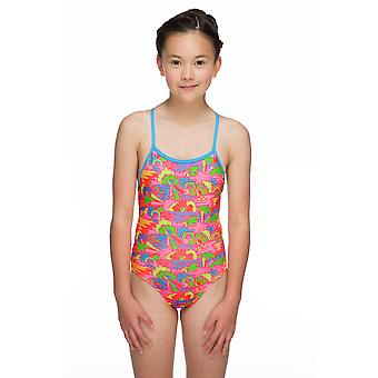 Maru Happy Days Pacer Aero Back Swimwear For Girls