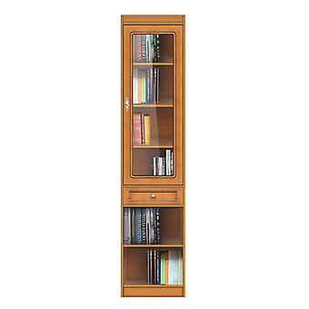 Libreria modulare con anta in vetro