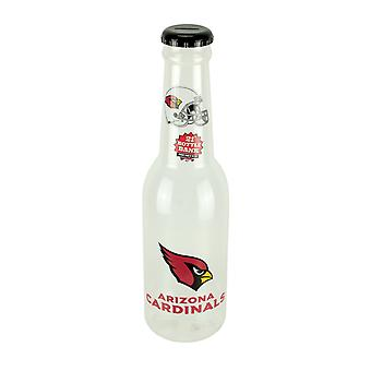NFL Arizona Cardinals Jumbo Bottle Coin Bank 21 polegadas de altura