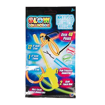 Glow Collection Mega Party Pack - 6