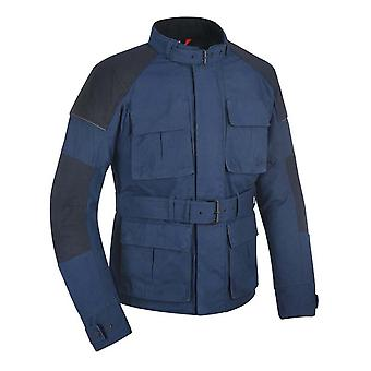 Oxford Navy Heritage Tech 1.0 Waterproof Motorcycle Jacket