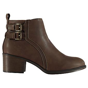 Miso Womens Rossini Buckle Boots Ladies Shoes