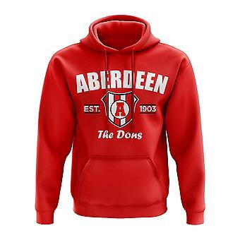 Aberdeen Established Hoody (Red)