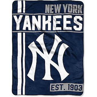 Northwest MLB New York Yankees Micro Plush Blanket 150x115cm