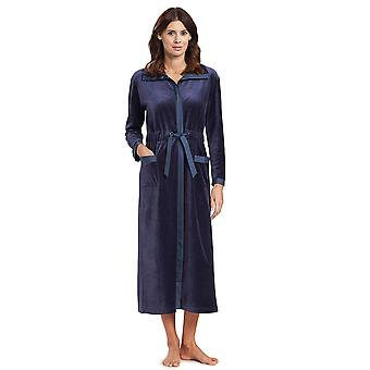 Feraud 3191049-11998 Frauen's High Class Smokey Blue Dressing Kleid Loungewear Robe
