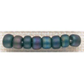 Mill Hill Glass Beads Size 6 0 4Mm 5.2 Grams Pkg Frosted Jeweltones Gbd6 16611