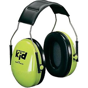 Peltor KIDV Children Neon Green Ear Defenders