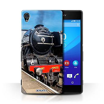 STUFF4 Case/Cover for Sony Xperia Z4v/E6508/Scotsman/Platform/Steam Locomotive