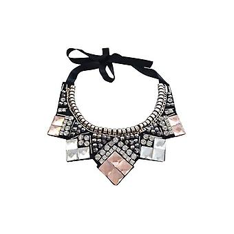 Classic statement necklace with Rhinestones