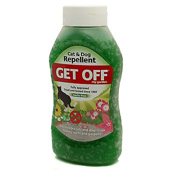 Get Off My Garden Cat & Dog Repellent Scatter Crystals 460g (Pack of 6)