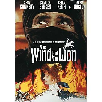 Wind & the Lion [DVD] USA import