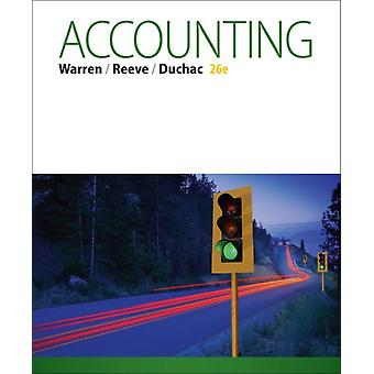 Accounting (Hardcover) by Duchac Jonathan (Wake Forest University) Warren Carl (University Of Georgia) Reeve James (University Of Tennessee)