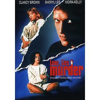 Kærlighed løgne & mord [DVD] USA importerer
