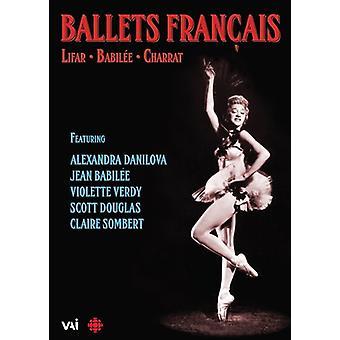 Frangais de ballets: Importación de Lifar Babilee Charrat [DVD] los E.e.u.u.
