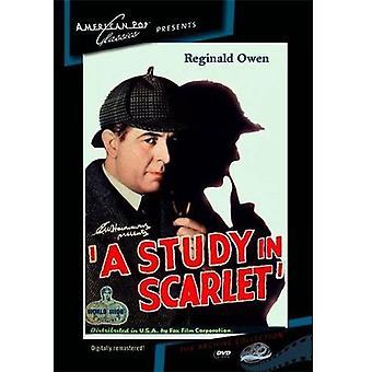 Sherlock Holmes: Un estudio en la importación de escarlata de los E.e.u.u. [DVD]