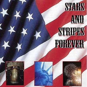Stjerner & Stripes Forever - Stars and Stripes Forever [Scotti Bros] [CD] USA importerer