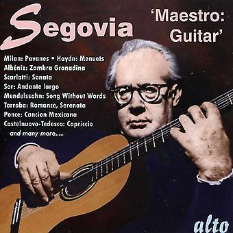 Andrts Segovia - Maestro Guitar [CD] USA import