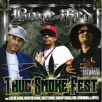 Knogle-ceret - Thug røg Fest [CD] USA import