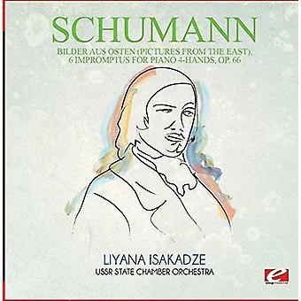 Schumann - importieren Sie Bilder Aus Osten (Bilder aus Osten) 6 Impromptus [CD] USA