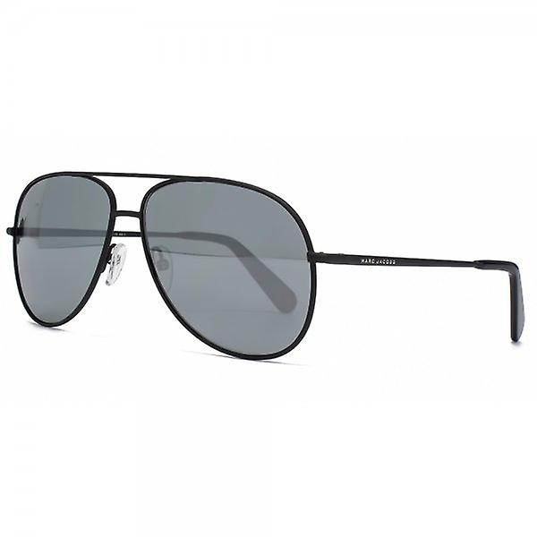 Marc Jacobs Aviator Sunglasses In Black