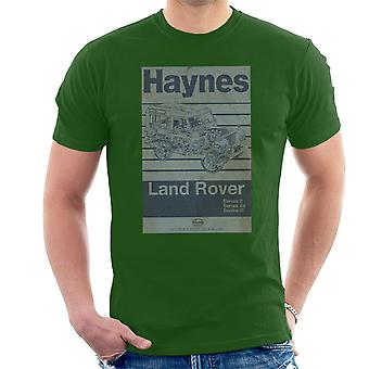 Haynes Workshop Manual Land Rover Stripe mannen T-Shirt