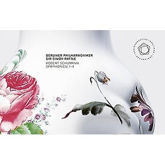 Schumann / Berliner Philharmoniker / rasle - symfonier 1-4 1841 Version [CD] USA import