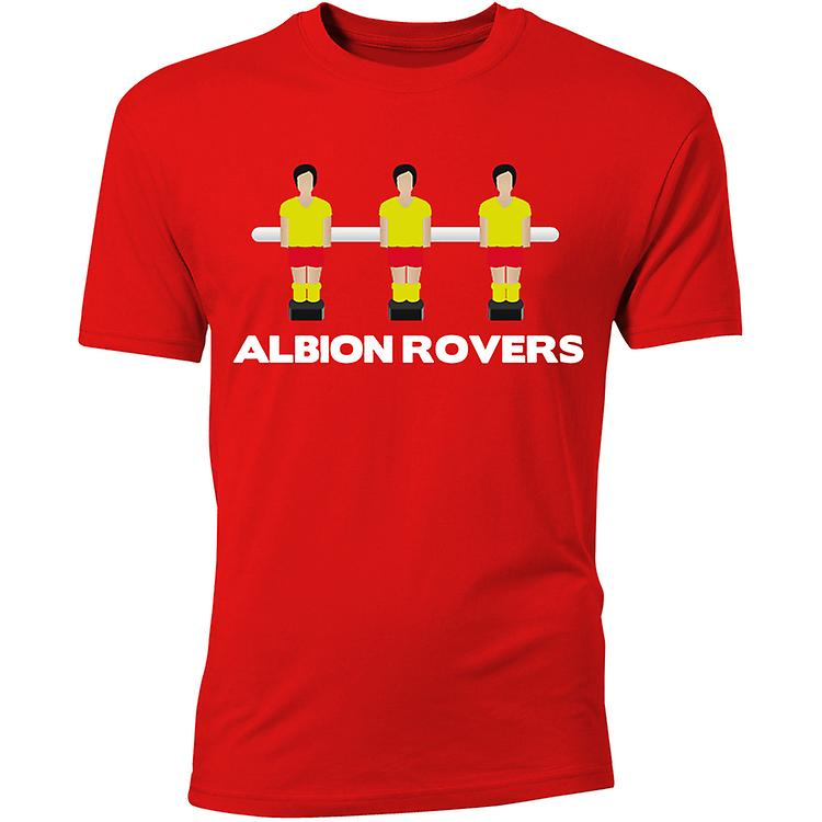 T-shirt Albion Rovers Football de Table (Rouge)