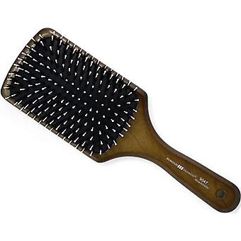 Hercules Sagemann Bristle Paddle Hair Brush Walnut Wood