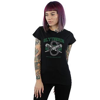 Harry Potter Women's Slytherin Quidditch Emblem T-Shirt