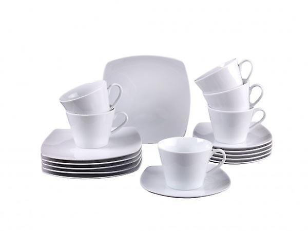 Simplement Porcelaine Blanche Villeroyamp; Boch Fraîche Café En 18pc Mis ZwuOPTlikX