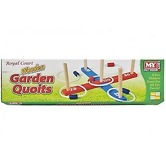 M.Y Wooden Garden Quoits