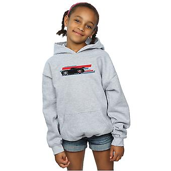Disney Girls Cars Jackson Storm Stripes Hoodie