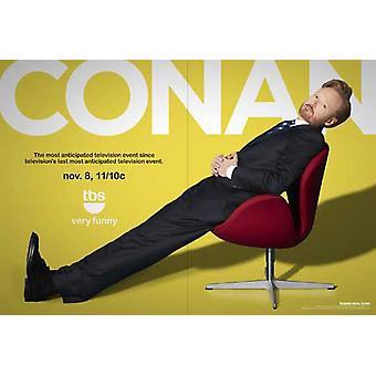 Cartel de la película de Conan (TV) (11 x 17)