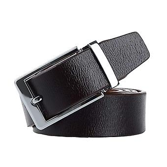 Baxter jewelry London leather belt dark brown