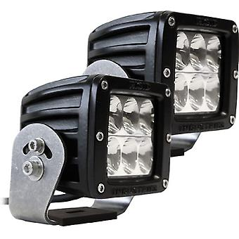 Rigid Industries 52231 D2 HD Driving Light with Black Casing