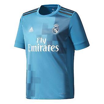 2017-2018 real Madrid Adidas tredje skjorte (barn)