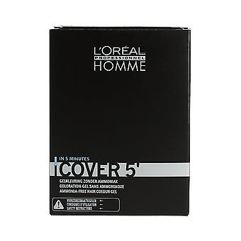 L'Oréal Professionnel Homme Cover 5' Grey Cover No 3 Dark Brown 3 x 50ml
