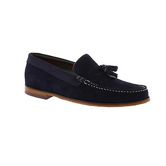 Ted Baker Dougge 2 - Dark Blue Suede (Navy) Mens Shoes